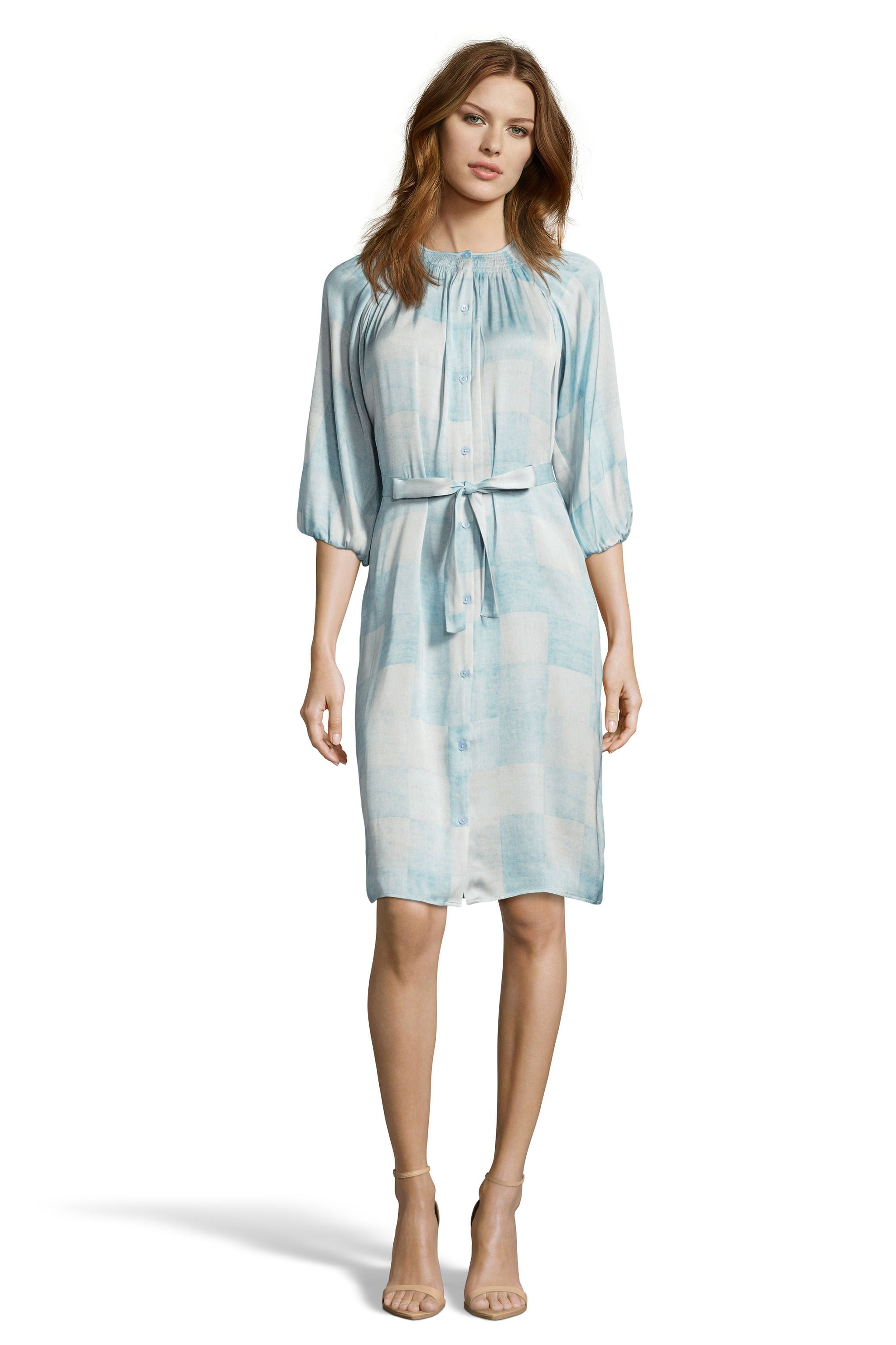 The Classic Knee Length Dress | Pastel Pastiche