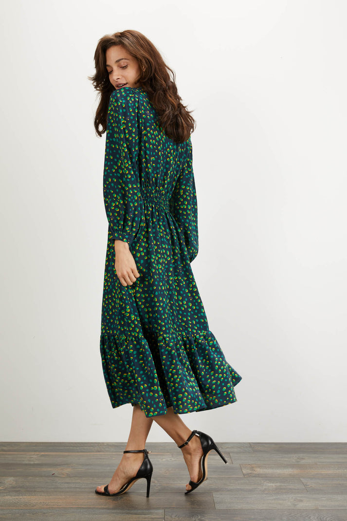 Juliette Dress | Jungle Dot