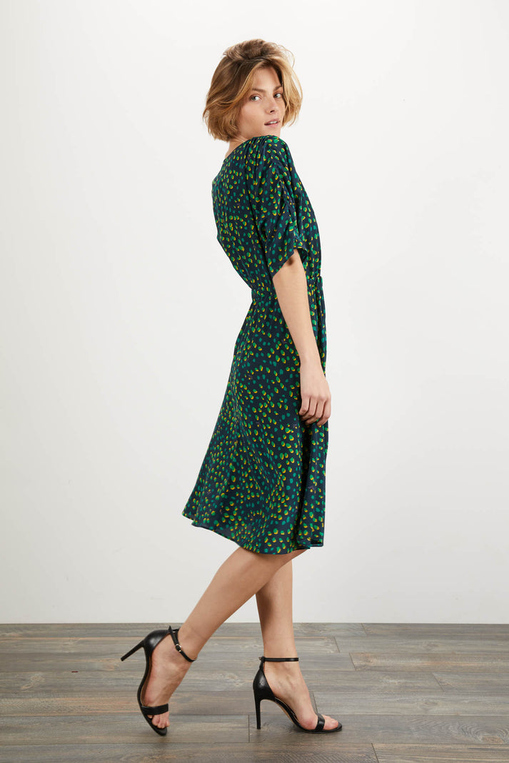 The Market Dress | Jungle Dot
