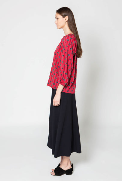 The Classic Blouse | Raspberry Parade