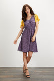 Chelsea Dress | Lavender Dot