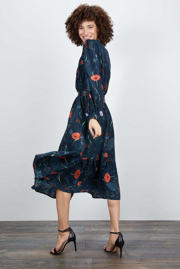Juliette Dress | Midnight Floral