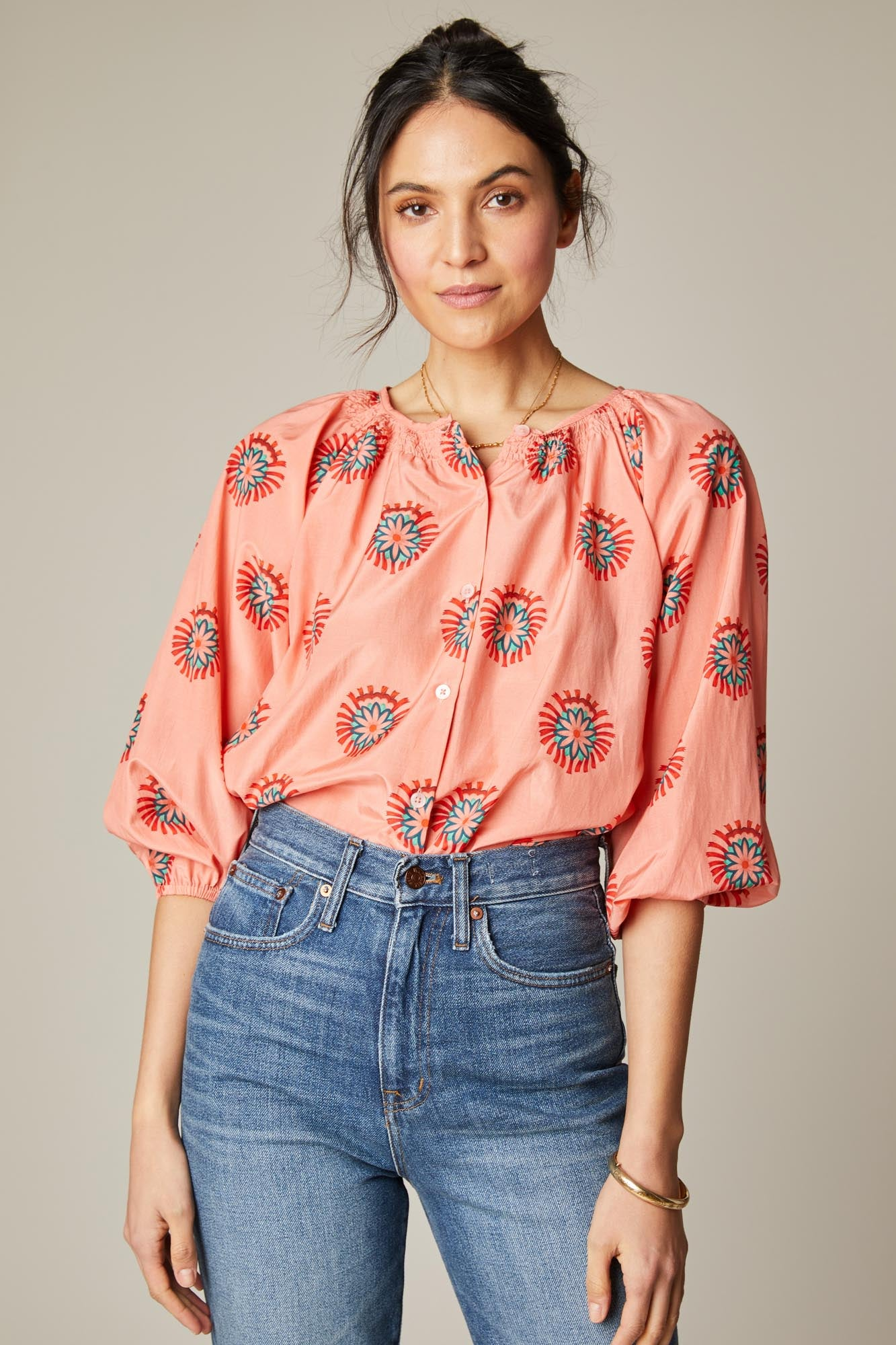 The Classic Blouse | Morning Medallions
