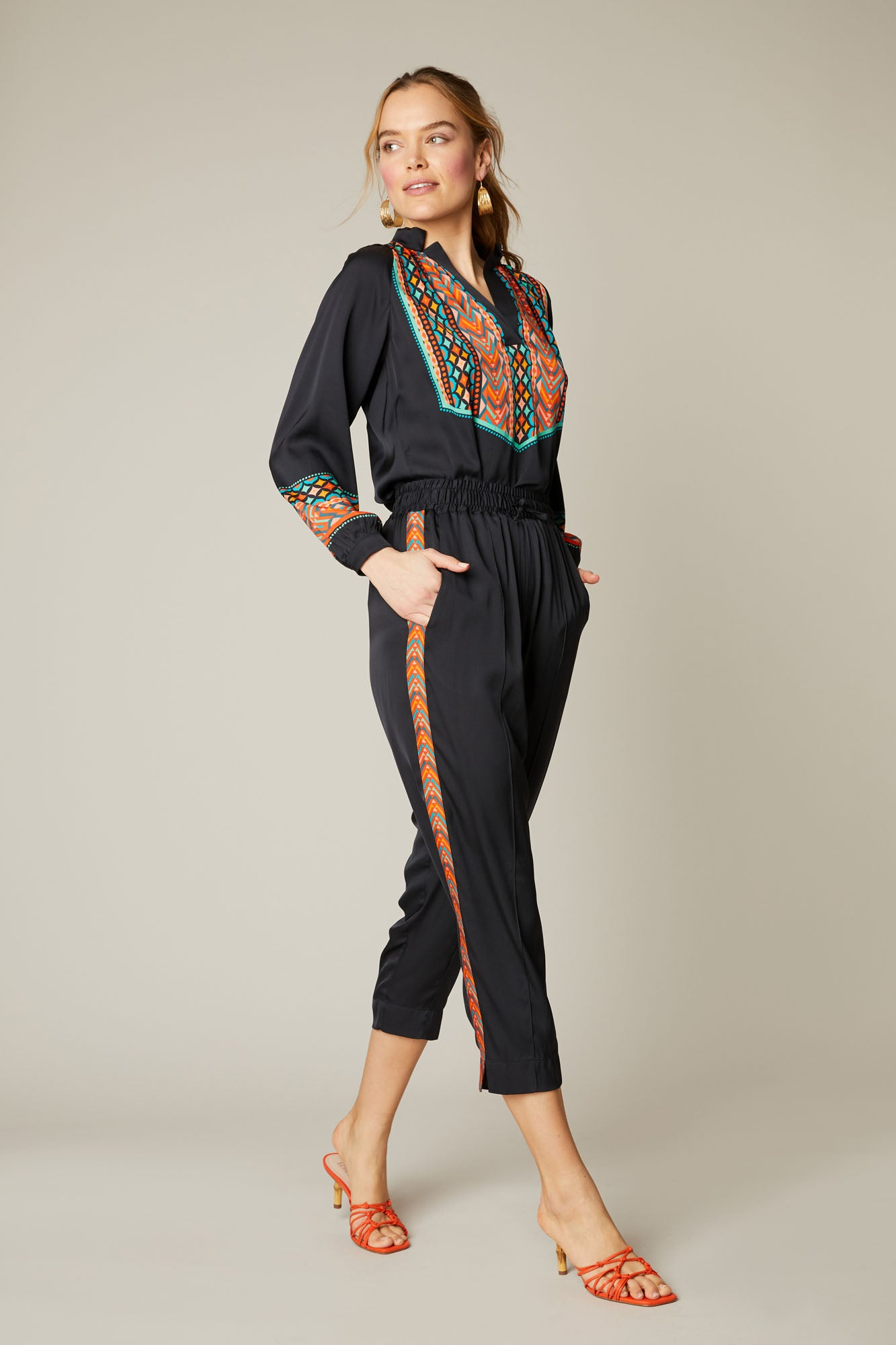 Julia Pant | Moroccan Embroidery