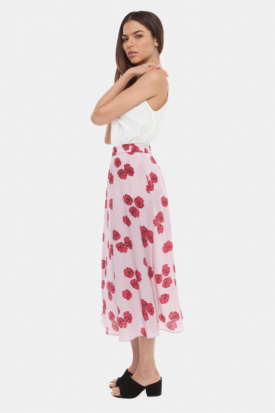The Maxi Skirt | Pink Poppy