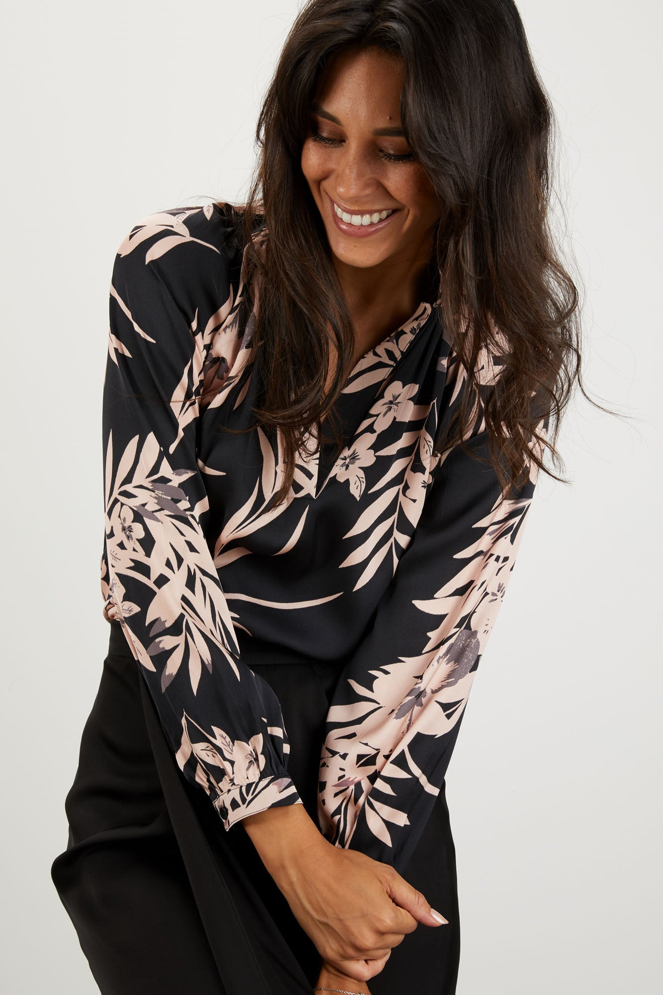 The Long Sleeve Polo Blouse | One For Madge