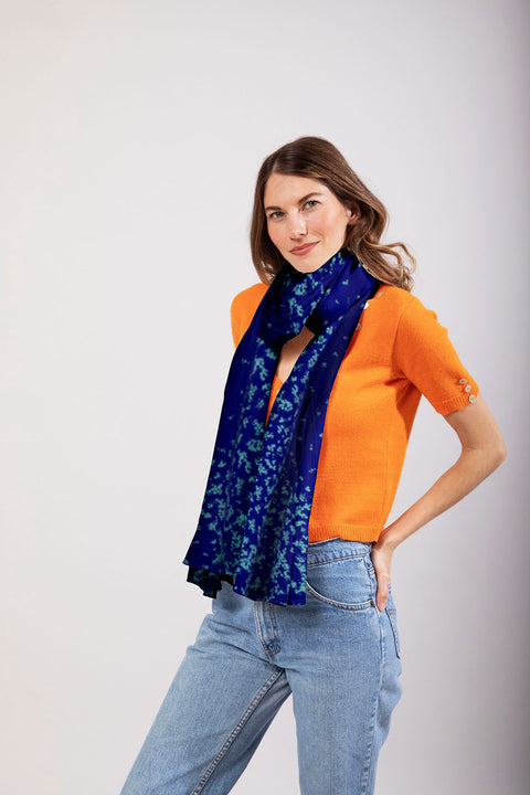 The Oversized Scarf | Aqua Love Duet