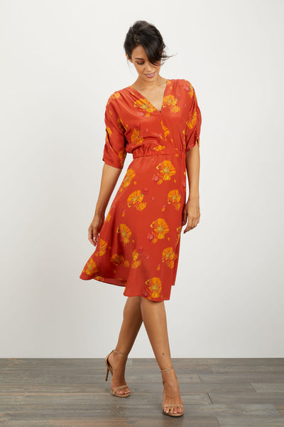 The Market Dress | Red Desert Floral