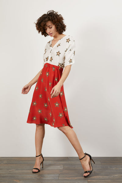 The Market Dress | Red Spurs