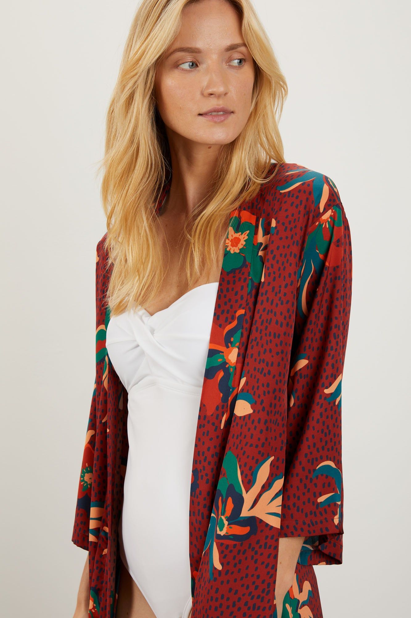 The Long Robe | Rustic Spotted Lily
