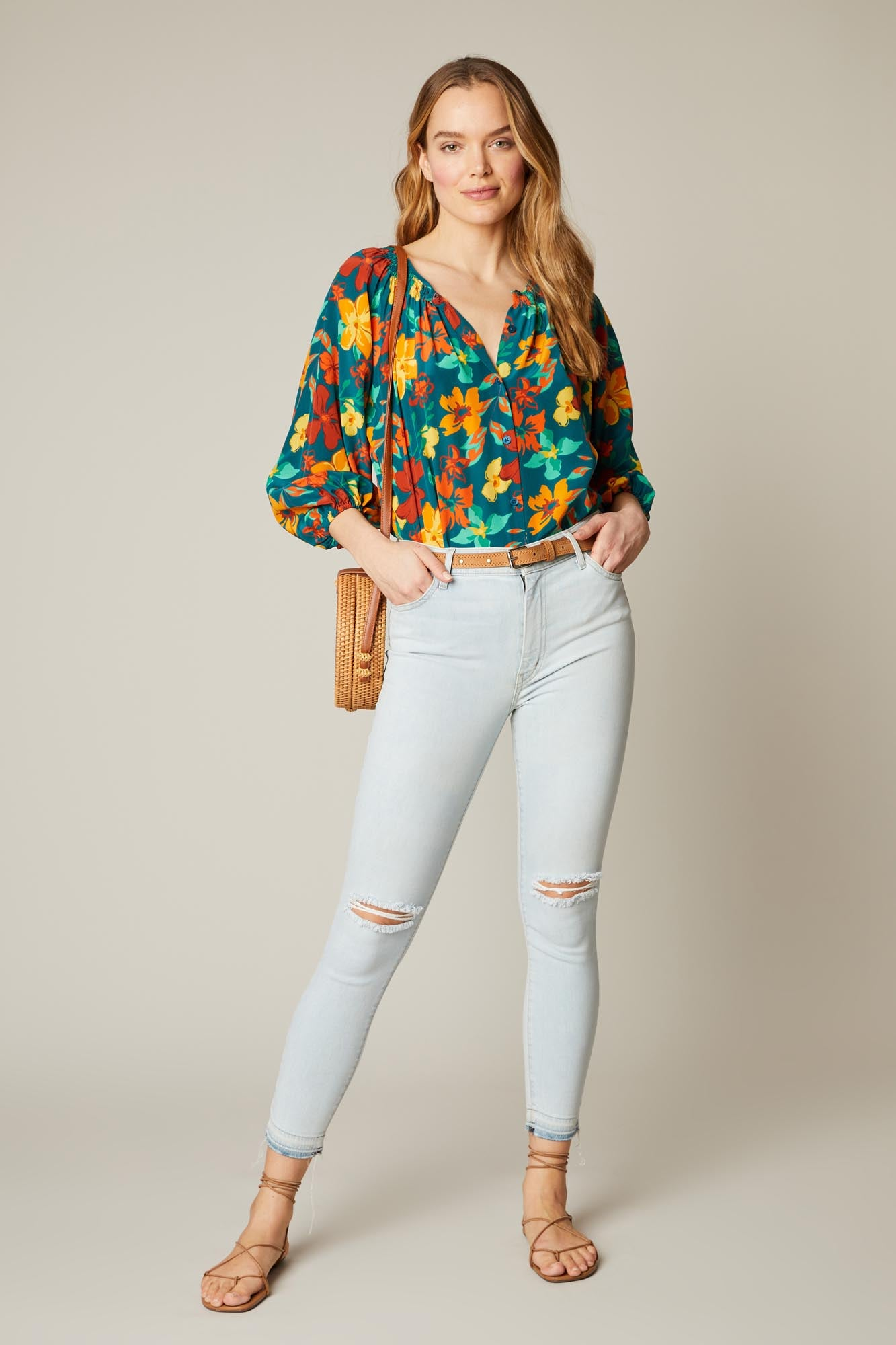 The Classic Blouse | Sea Casa Floral