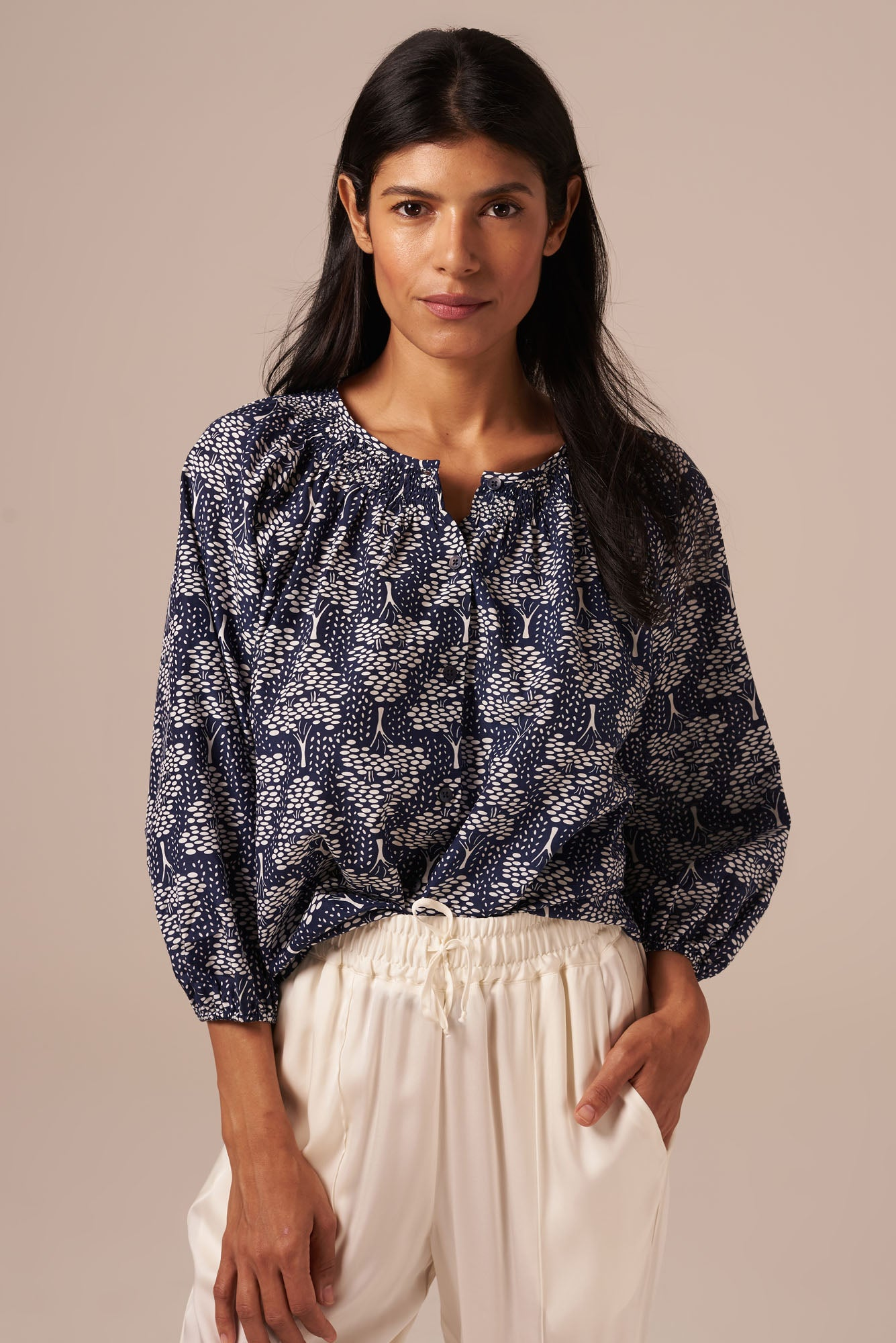 The Classic Blouse | Secret Maze