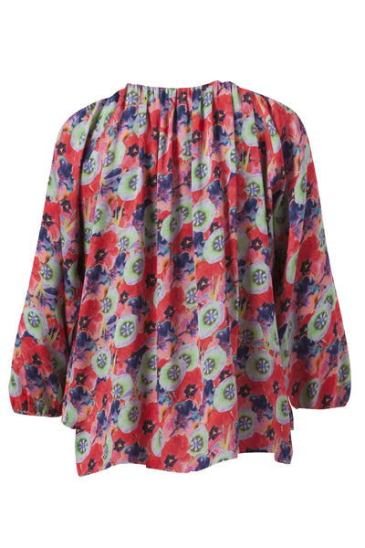 The Classic Blouse | Psychedelic Floral