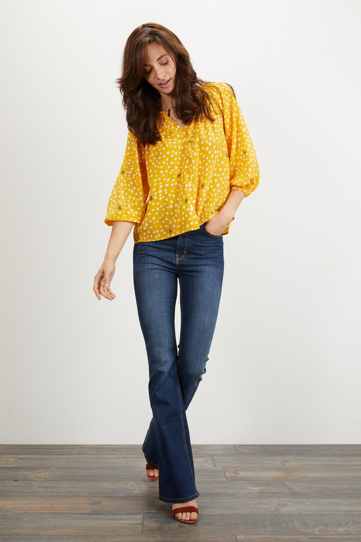 The Classic Blouse | Sun Dot