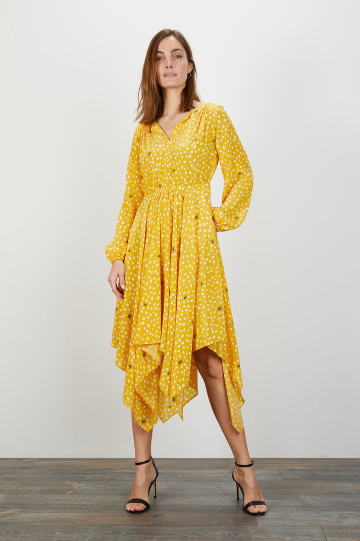 Sofia Dress | Sun Dot