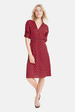 The Market Dress | Red Diamond