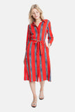The Long Shirtdress | Painted Stripe