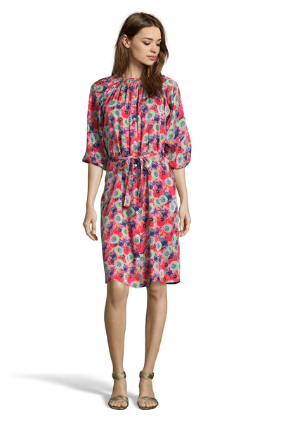 The Classic Knee Length Dress | Psychedelic Floral