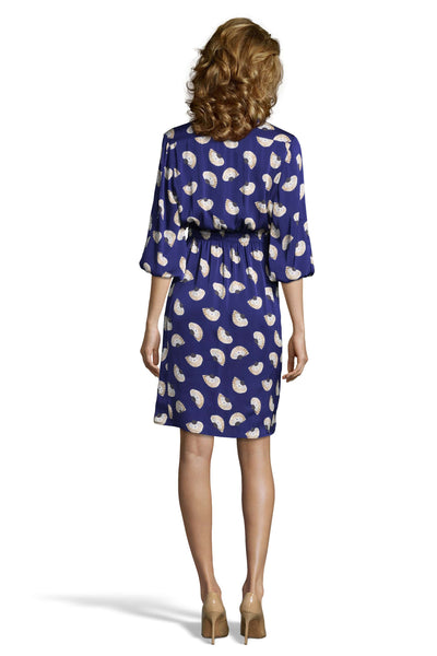 The Abigail's Party Dress | Navy Fans