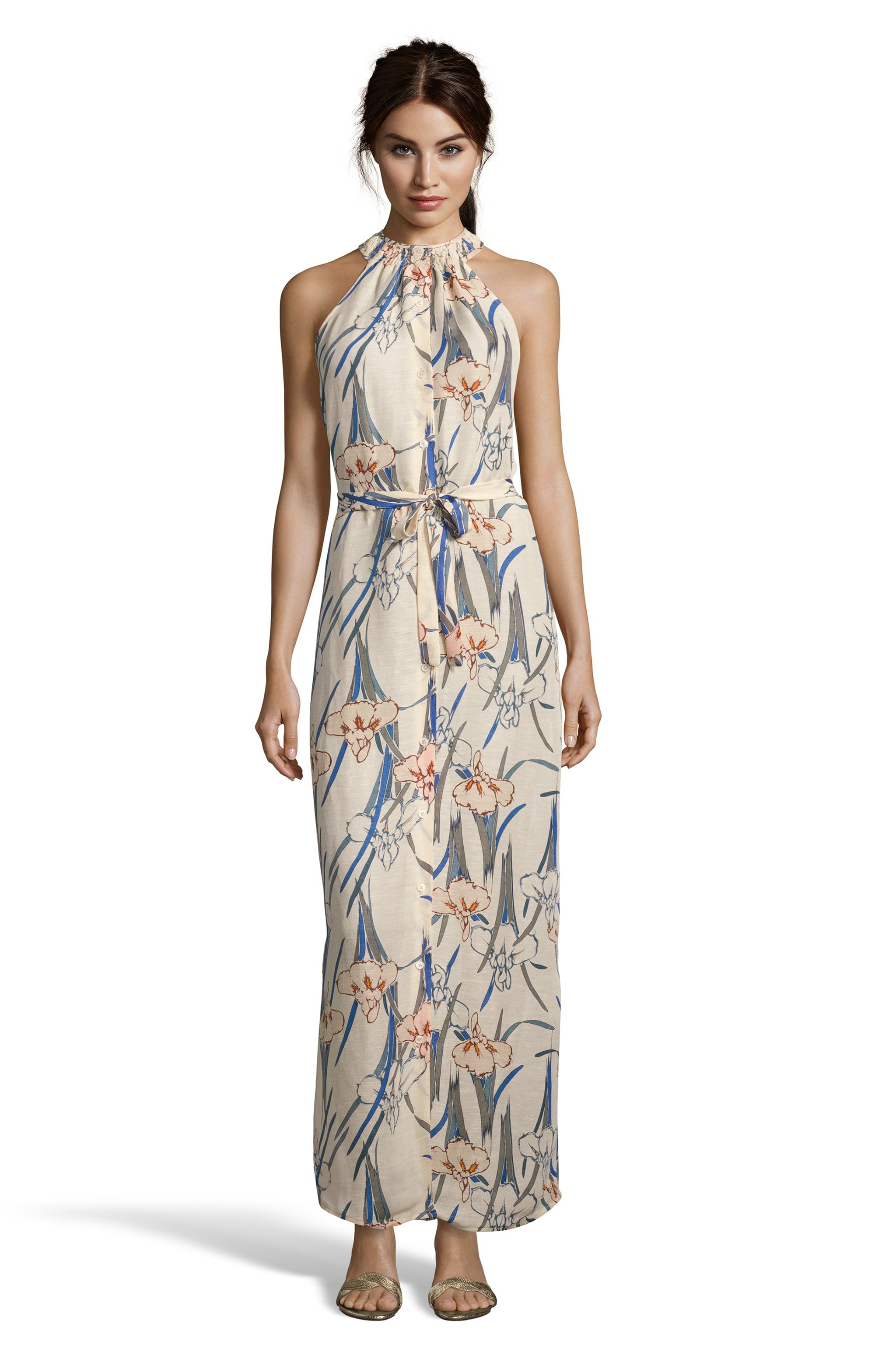 The Classic Sleeveless Maxi Dress
