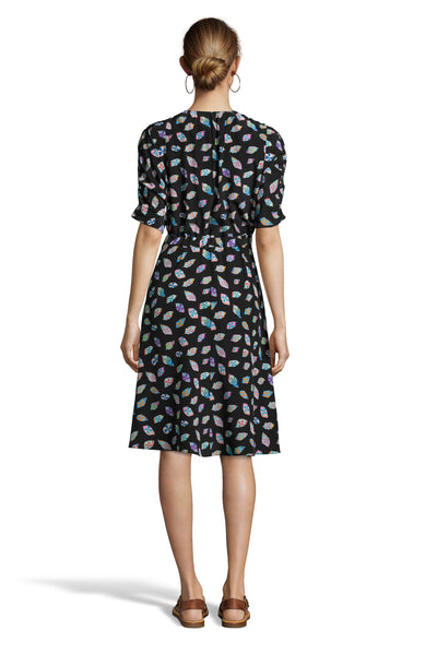 The Market Dress | Glass Patch Print