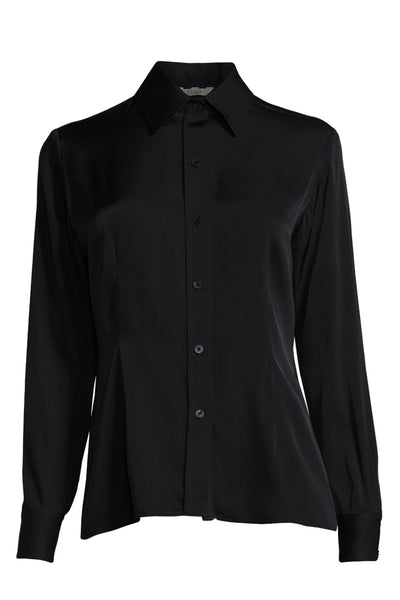 The Slim Fit Button Up | Black