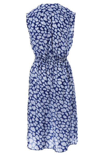 The Sleeveless Tie Waist Dress