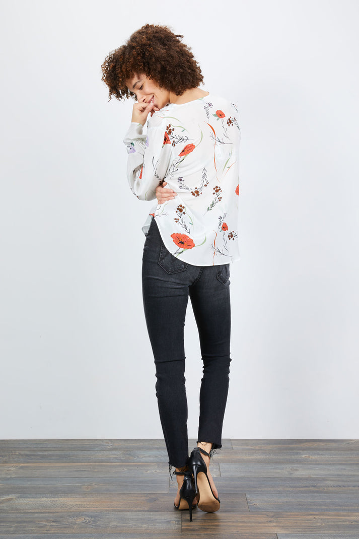 Juliette Blouse | Morning Floral