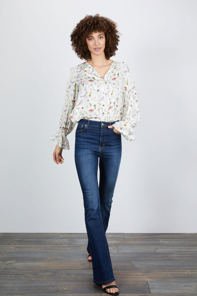 Juliette Blouse | Lucky Finds Pearl