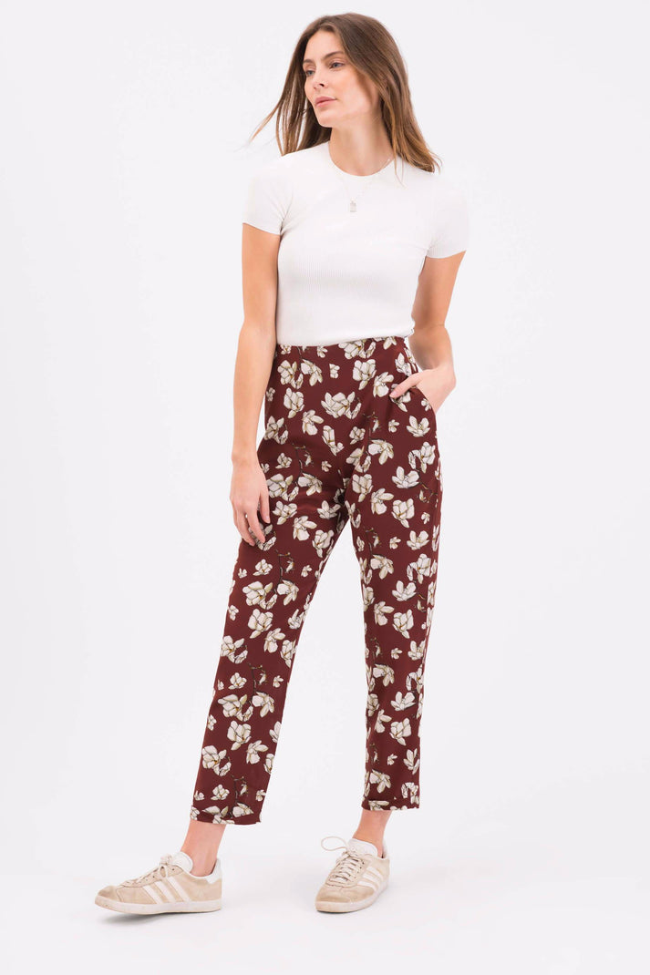 The High Waist Trouser | Red Magnolia