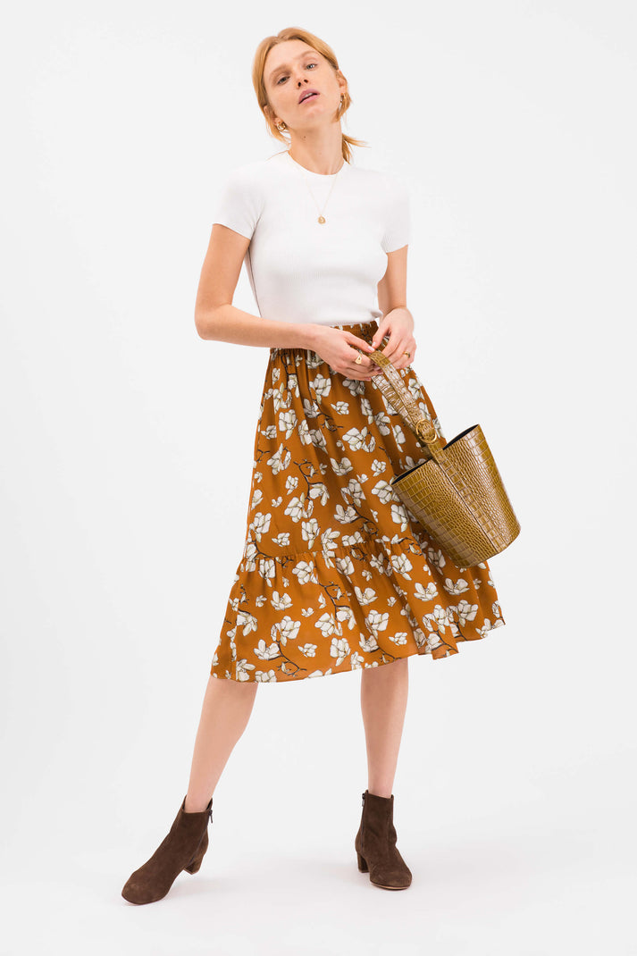 The Tiered Skirt  | Imperial Floral