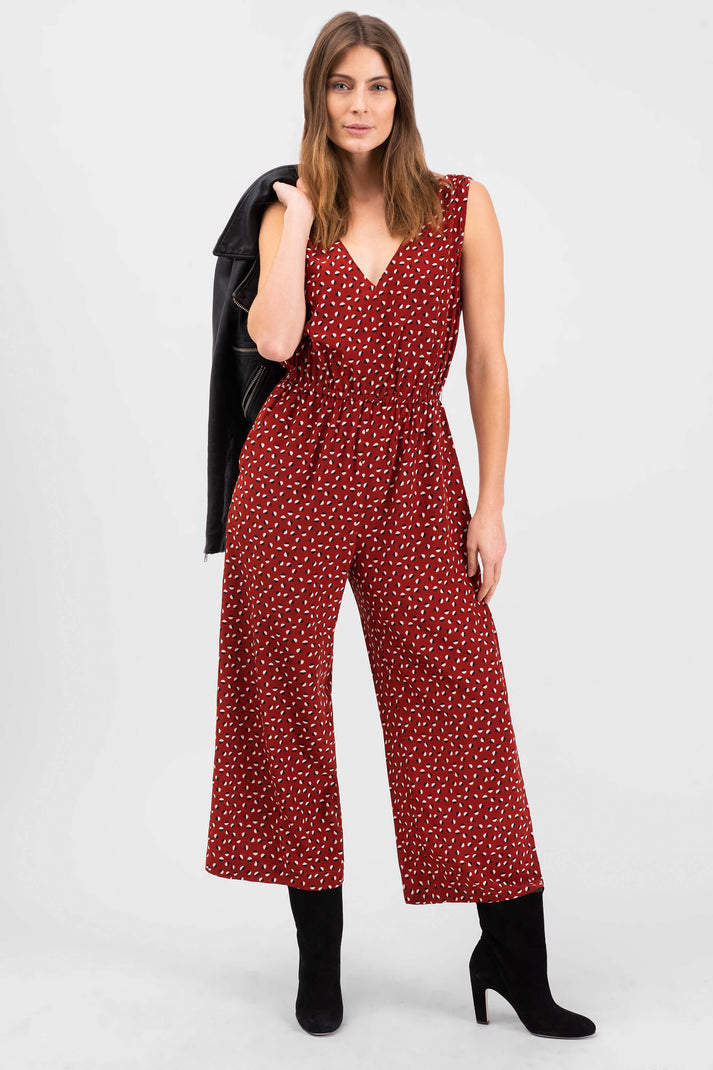 The V-Neck Jumpsuit | Mod Dot