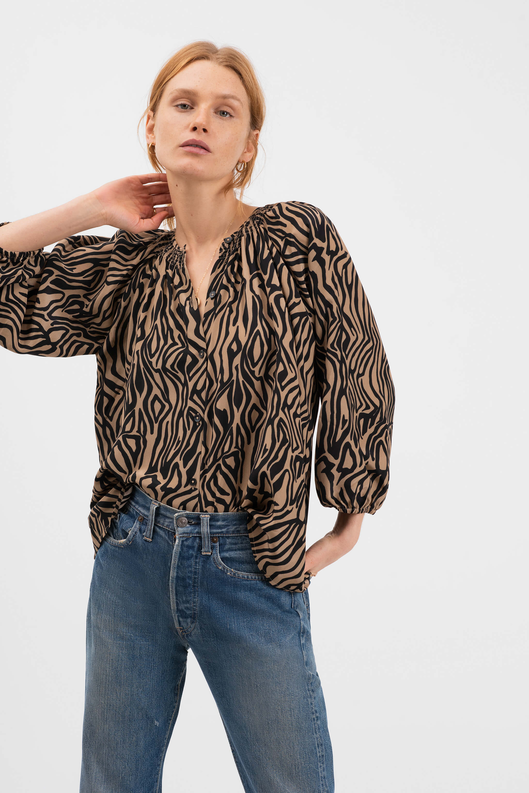 The Classic Blouse | Zebra
