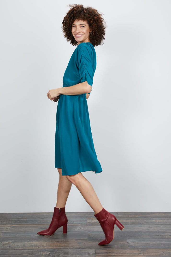 The Market Dress | Turkish Blue