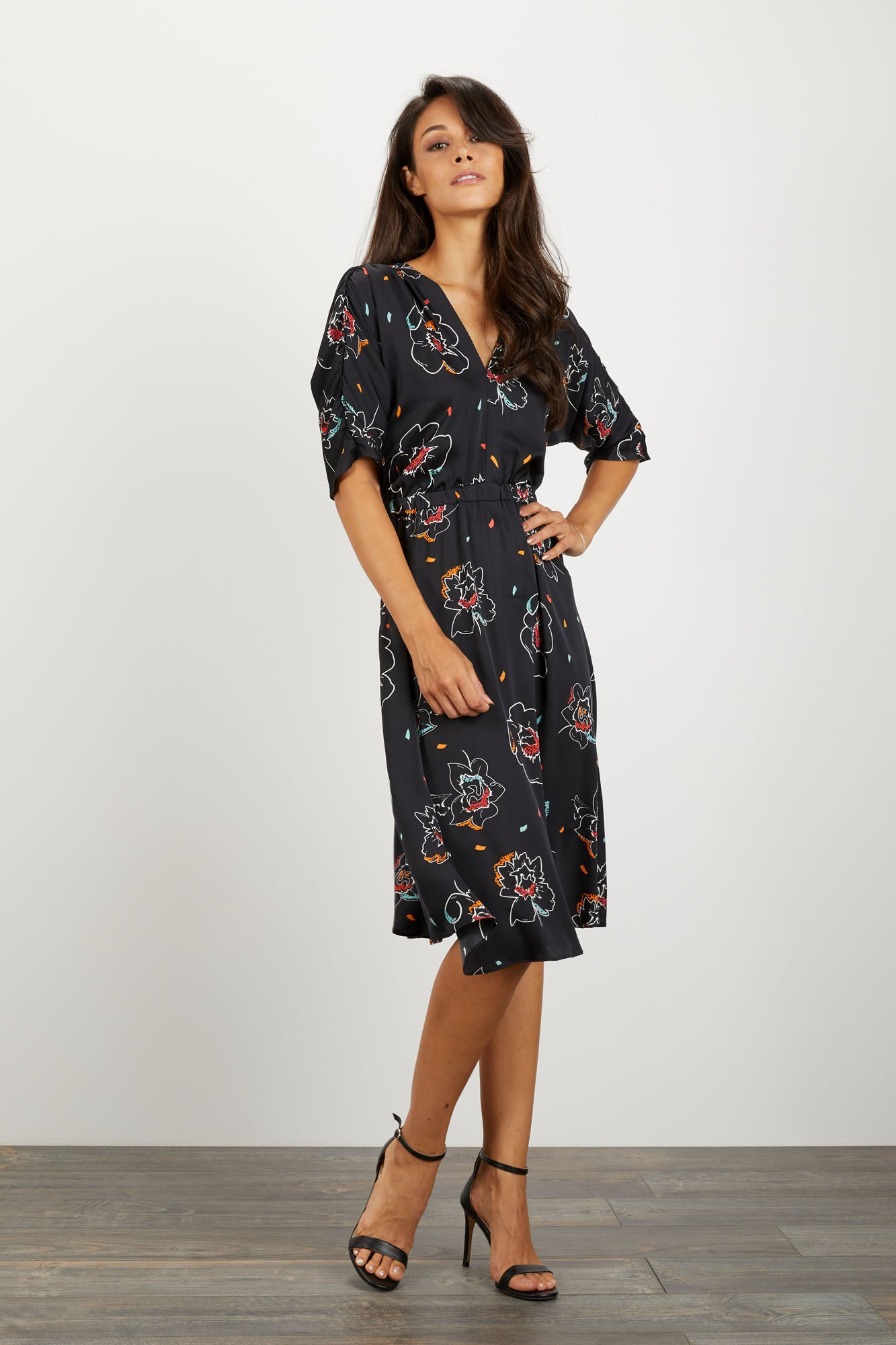 The Market Dress | Twilight Floral