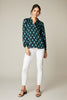 The Long Sleeve Polo Blouse | Twilight Medallions