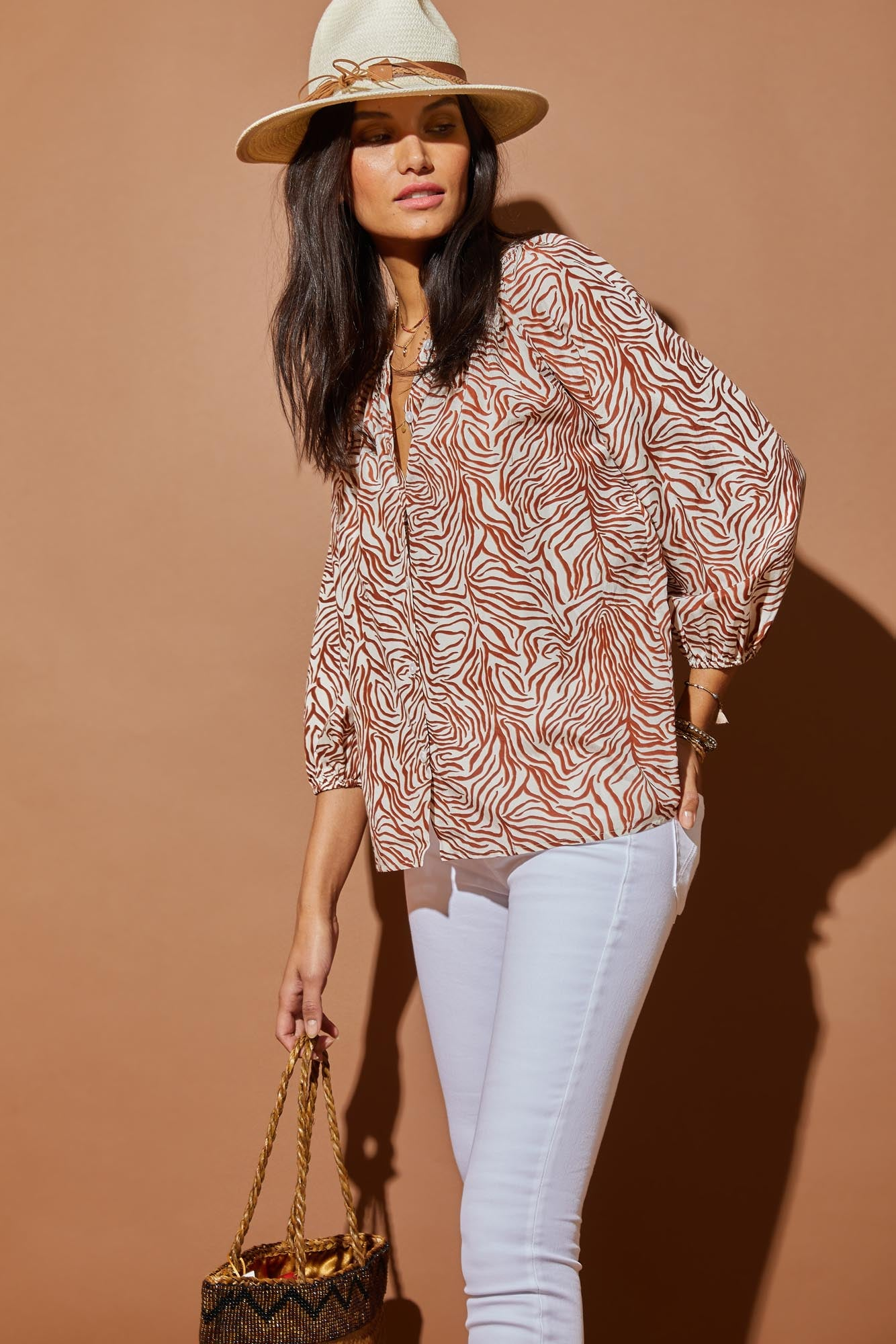 The Classic Blouse | White Tiger