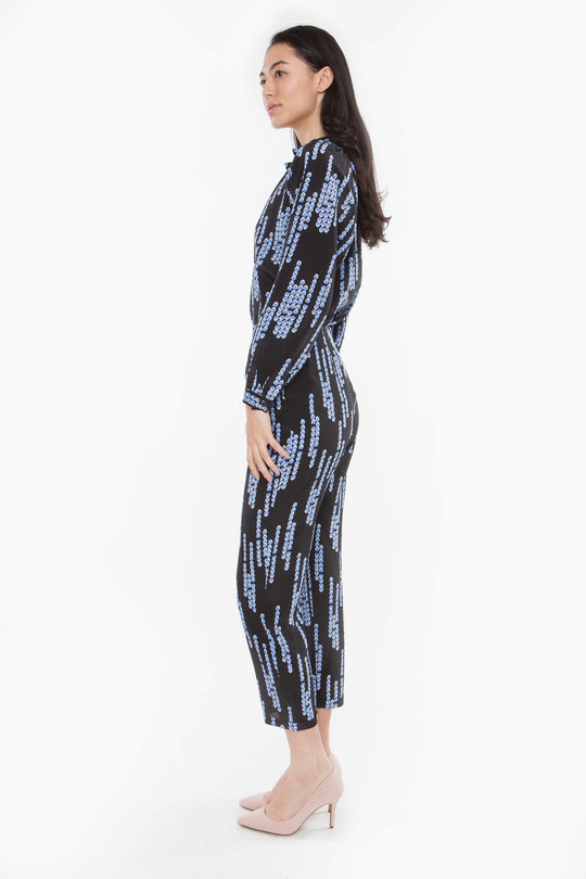 The High Waist Trouser | Midnight Chandelier