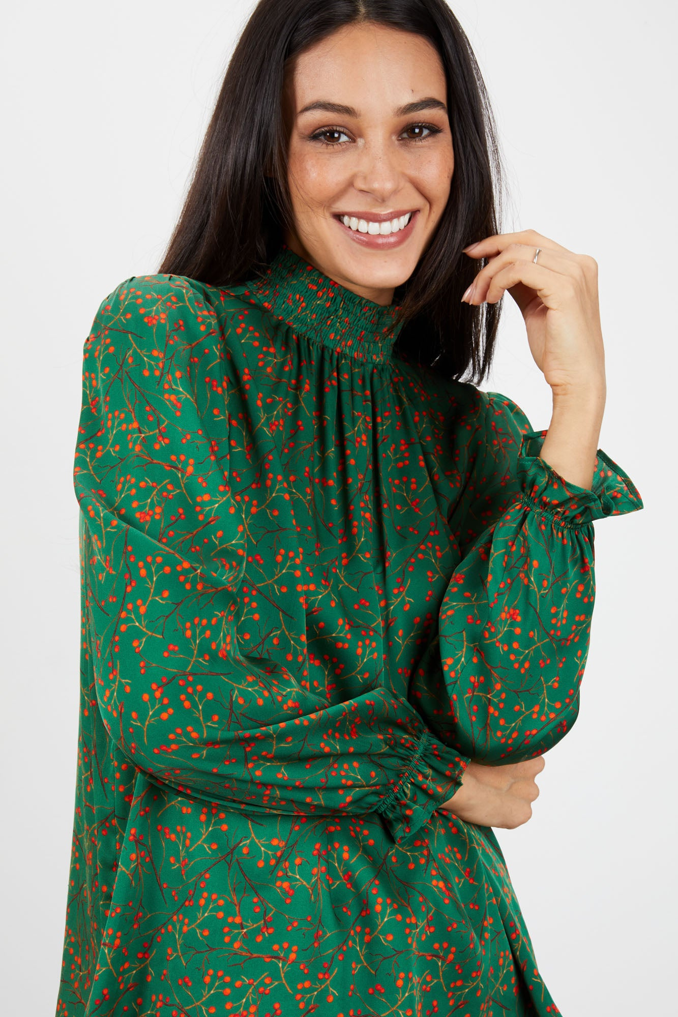 Stella Top | Emerald Holly