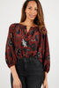 The Classic Blouse | Merlot Lace