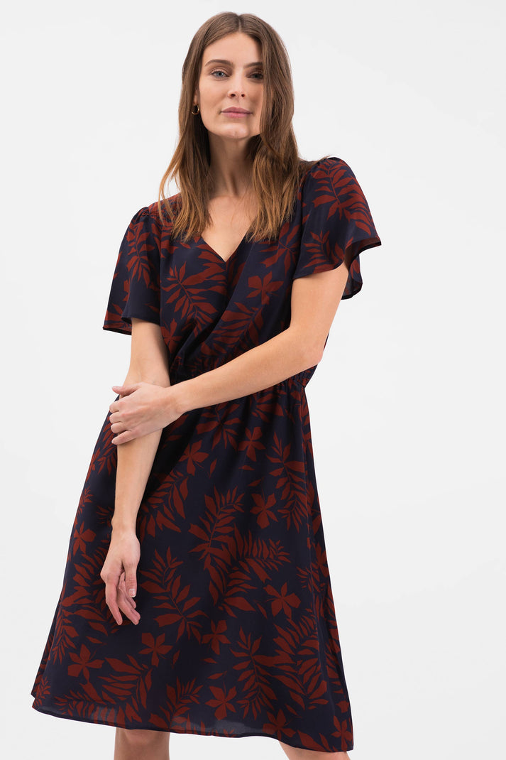 The Chelsea Dress | Autumn Leaves