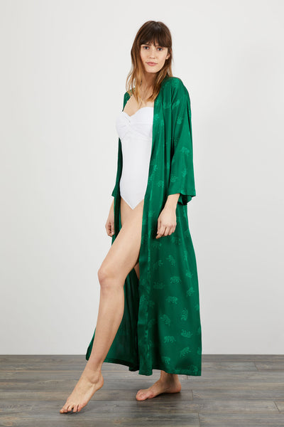 The Long Robe | Emerald Leopards