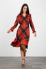 Stella Dress  | Mr Claus Plaid