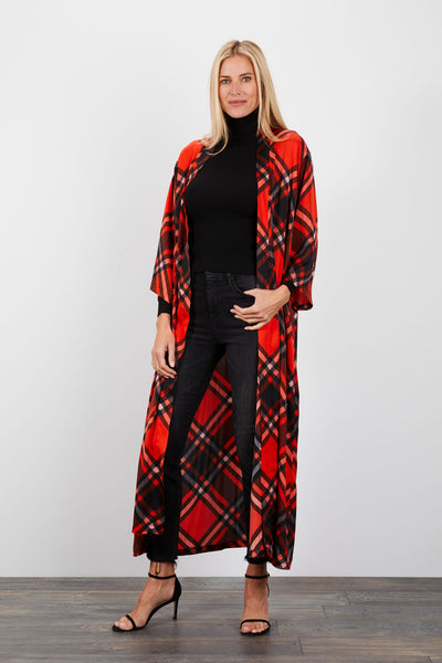 The Long Robe | Mr Claus Plaid