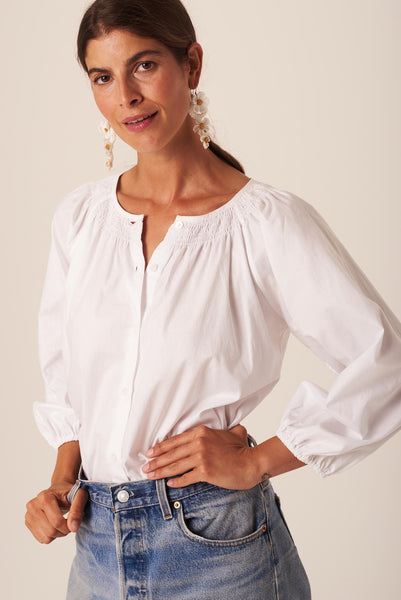 The Classic Blouse | White