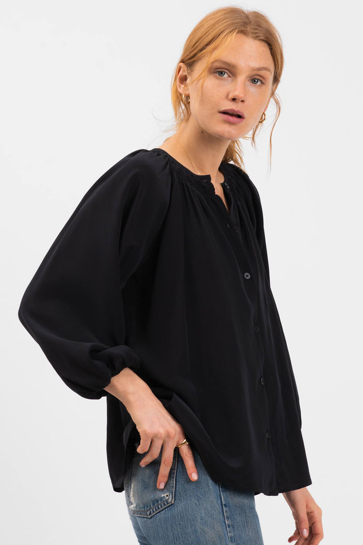 The Classic Blouse | Black