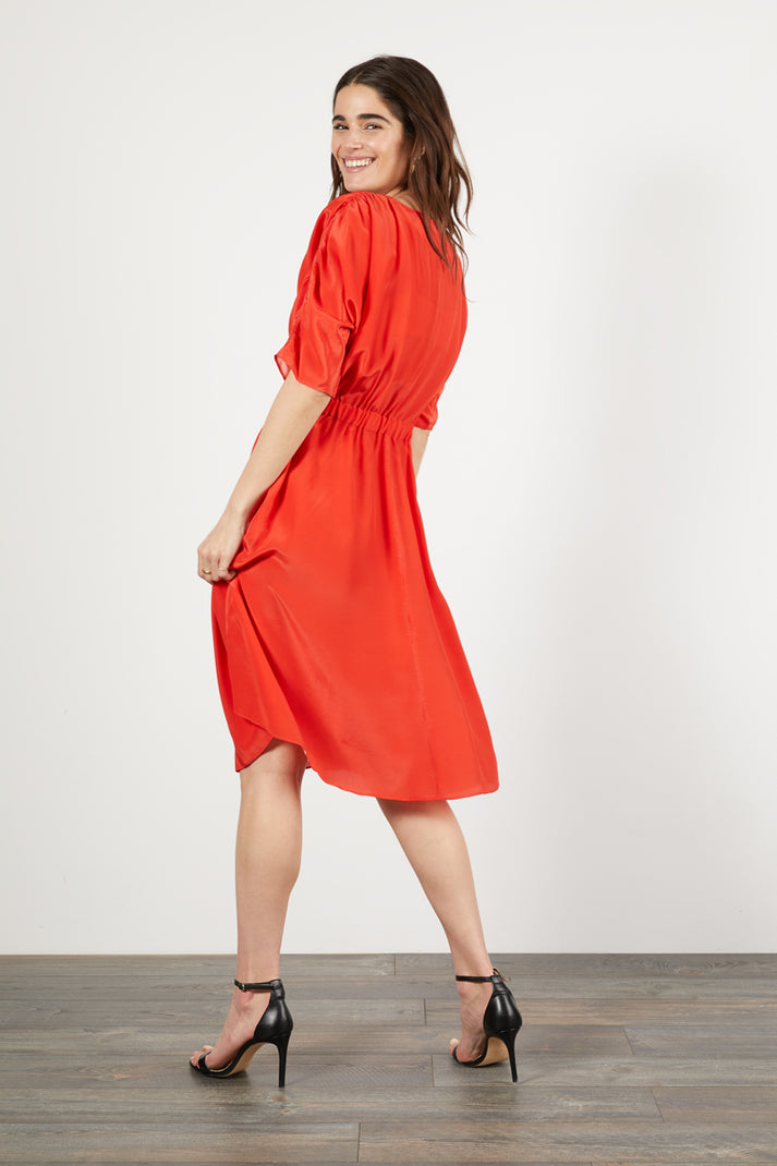The Market Dress | Candy Red
