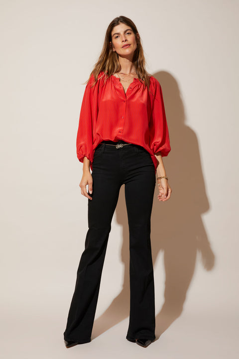 The Classic Blouse | Red Kaleidoscope