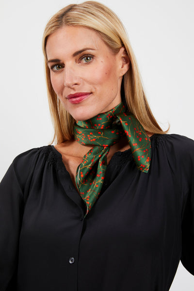 Lily Scarf | Emerald Holly