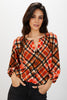 The Classic Blouse | Rudolph Plaid